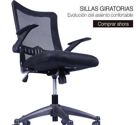 sillas giratorias