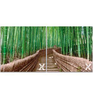Cuadro-Bamboo-Stairs---Diptico