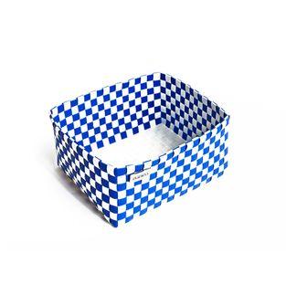 Organizador-S-Blanco-Azul-Ajedrez