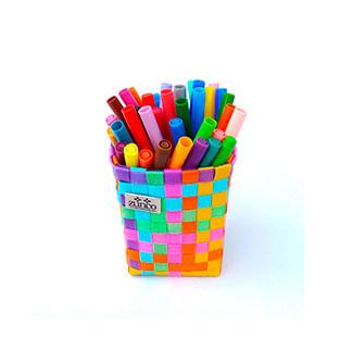 Organizador-Mini---Portalapices-Colores-Vivos