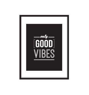 Cuadro-Good-Vibes-Black