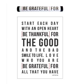 Afiche--Be-Grateful