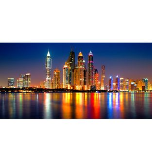 Cuadro-Flotante-Dubai-Skyline