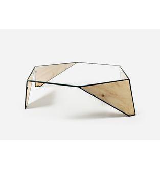 Mesa-hexagono-negro