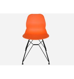 Silla-con-estructura-metalica-IRIS-bastidor-naranja