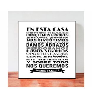 Cuadro-Decorativo-para-Pared-Frases-positivas-Be-Love--En-esta-Casa-.