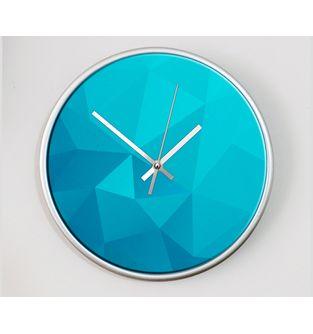 Reloj-decorativo-de-pared-con-diseño-O-Clock---Piramidal-Blue-.
