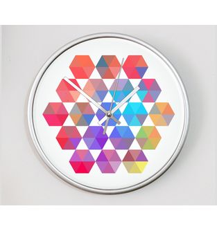 Reloj-decorativo-de-pared-con-diseño-O-Clock--Kaleidoscope-.