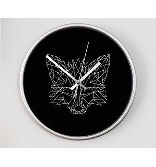 Reloj-decorativo-de-pared-con-diseño-O-Clock--Geometric-Fox-.