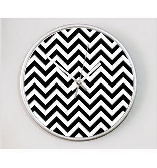 Reloj-decorativo-de-pared-con-diseño-O-Clock--Black-Waves-.