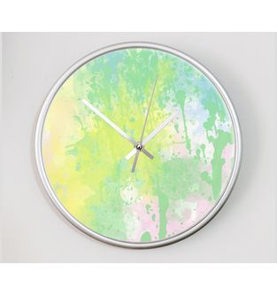 Reloj-decorativo-de-pared-con-diseño-O-Clock--Splash-in-Green-.