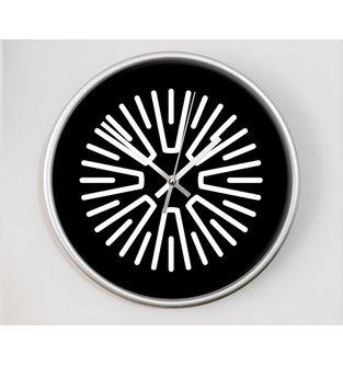 Reloj-decorativo-de-pared-con-diseño-O-Clock--Time-is-Now-.