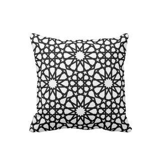 Cojin-Decorativo-para-el-hogar-en-Polyester-Lovely-Home--Estrella-de-Belen-.