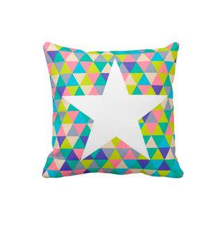 Cojin-Decorativo-para-el-hogar-en-Polyester-Lovely-Home--Estrella-Piramidal-.
