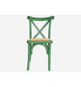 Silla-Deco-madera-verde