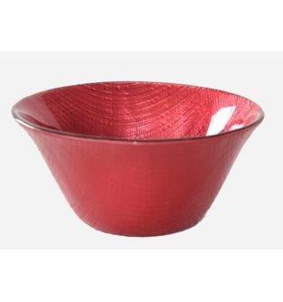 Bowl-Botanical-Rojo