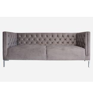 Sofa-3-puestos-Lino-tela-gris-plomo