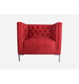 Sofa-poltrona-puestos-Lino-tela-vinotinto
