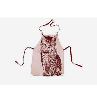 Delantal-Red-Cat