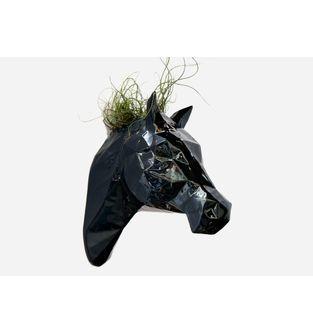 Matera-Cabeza-Caballo-Facetado-Negro