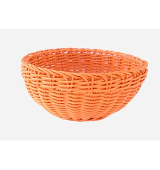 Canasta-Plastica-Redonda-23-Cm--Naranja