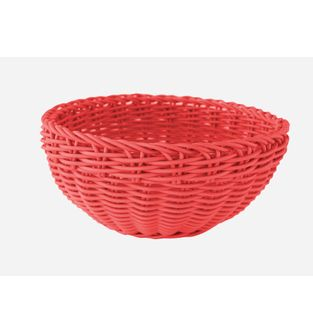 Canasta-Plastica-Redonda-23-Cm--Rojo