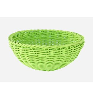 Canasta-Plastica-Redonda-23-Cm--Verde