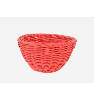 Canasta-Plastica-Redonda-18-Cm---Rojo