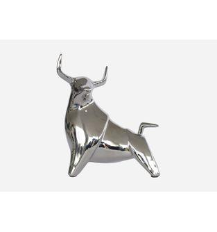 Escultura-Toro-lado-Plata