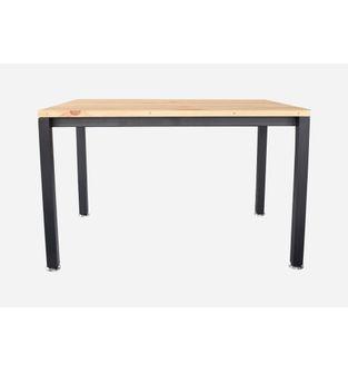 Mesa-de-comedor-Minima-120-80cm-Pino-estructura-negra