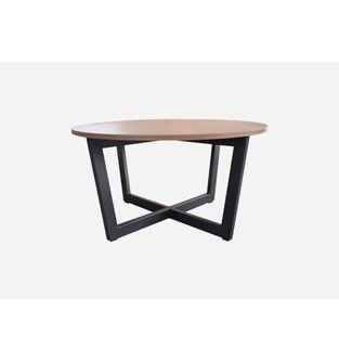 Mesa-de-centro-Nodo-Caramel-estructura-negra