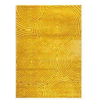 Tapete-Times-Square-Fondo-Amarillo-De-Circulos---120x170