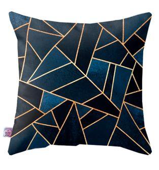 Cojin-Decorativo-Triangullos-Azul-y-Dorado