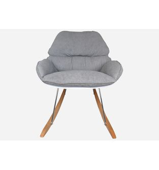 Silla-poltrona-mecedora-Bay-pata-madera-y-tela-blanco-con-gris-