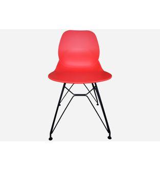 Silla-con-estructura-metalica-IRIS-bastidor--rojo-