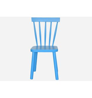 Silla-Retro-madera-azul