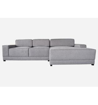 Sofa-L-Chaise-Crepe-tela-plata