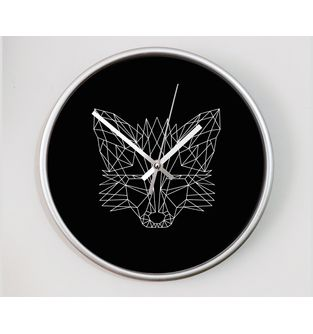 Reloj-decorativo-de-pared-con-diseño-O-Clock--Geometric-Fox-.