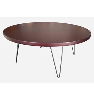 Mesa-de-centro-redonda-Jade-Chapilla-roble-osc-y-metal-negro