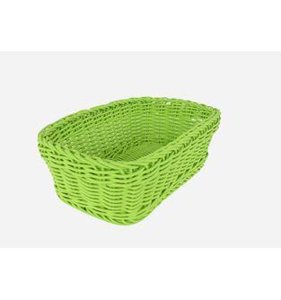 Canasta-Plastica-Rectangular-28-Cm--Verde