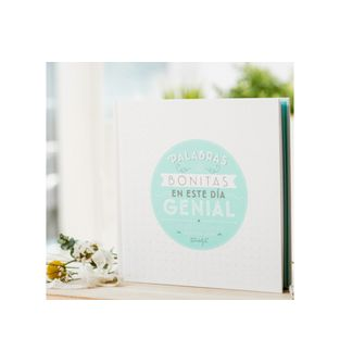 Libro-de-firmas-Palabras-bonitas-en-un-dia-genial