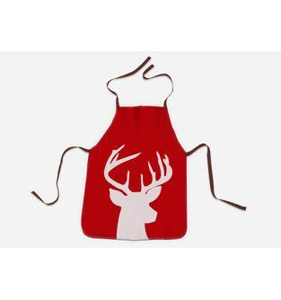 Delantal-Red-Holy-Reindeer