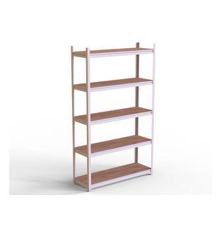 Estanteria-metal-madera