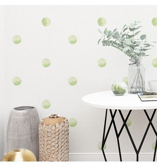 Mini-Vinilo-Adhesivo-Soft-Green-Watercolor-Dots-impreso