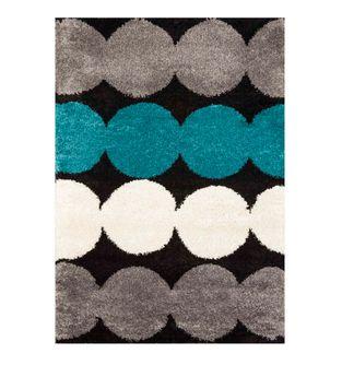 Tapete-Royal-Funk-Fondo-Negro-Con-Circulos-De-Colores---170x120