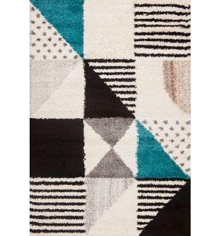 Tapete-Royal-Funk-Fondo-Blanco-Con-Cuadros-Geometricos---230x160