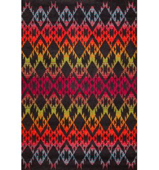 Tapete-Swing-Fondo-Negro-Triangulos-Colores-Fuertes---230x160